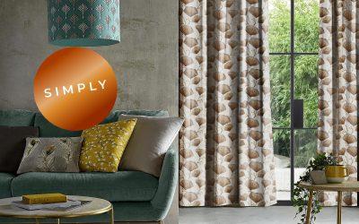 Simply – simpelthen den nye spændende gardinkollektion fra groovi.